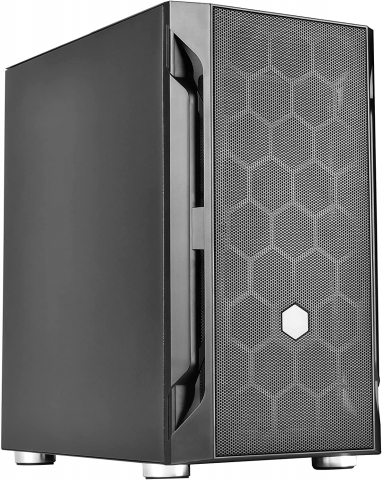 SilverStone FARA H1M Solid Side Panel Mid-Tower (Black)